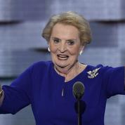 Madeleine Albright: «Je souhaite le retour d'une Amérique généreuse et charitable»