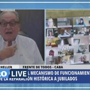 Argentine: un député embrasse le sein de sa femme en pleine visioconférence