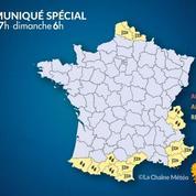 Vents violents et pluies : la Corse en alerte orange