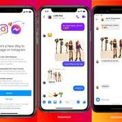 Facebook Messenger fusionne avec la messagerie d'Instagram