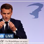 Séparatisme : Macron annonce que l'école à domicile sera «strictement limitée» à la rentrée 2021