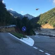 Intempéries dans les Alpes-Maritimes : un gendarme disparu retrouvé vivant