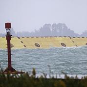 Venise a été protégée de la crue par ses digues artificielles