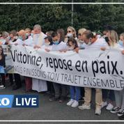 À Villefontaine, une marche blanche émouvante en hommage à Victorine