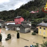 Intempéries en Italie: le Piémont et la Ligurie demandent l'état d'urgence