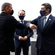 Rencontre inédite des chefs de la diplomatie émirati et israélien au Mémorial de la Shoah à Berlin