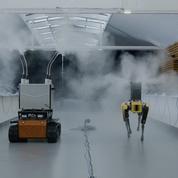 Spot, le chien robot qui combat le Covid-19