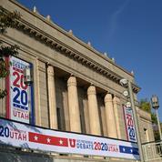 Du plexiglas entre les candidats à la vice-présidence des États-Unis