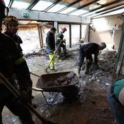 Alpes-Maritimes: 5000 foyers sans électricité, un réseau à reconstruire
