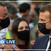 Macron au chevet des Alpes-Maritimes, département meurtri par les intempéries