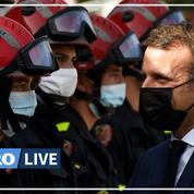 Emmanuel Macron: l'État mettra «plusieurs centaines de millions d'euros» pour reconstruire