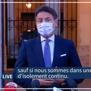 Italie : masque obligatoire à l'extérieur dans tout le pays, état d'urgence jusqu'à fin janvier
