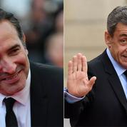«Présidents»: les premières images de Jean Dujardin grimé en Nicolas Sarkozy