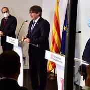 Les trois ex-présidents de Catalogne critiquent l'État espagnol
