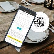 Covid 19 : grâce aux restaurants, les carnets de rappel numériques en plein boom