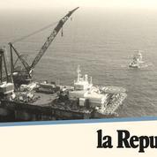 Le gaz enflamme la mer Méditerranée