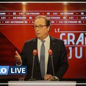 François Hollande : «Je ne suis pas du tout dans une logique de candidature» présidentielle