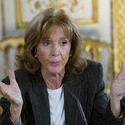 Happening féministe pour demander l'entrée au Panthéon de Gisèle Halimi