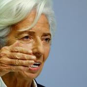 BCE : Lagarde critique le retard pris par la finance verte