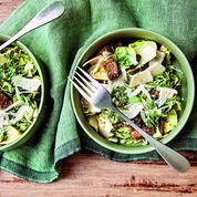 La recette de salade Caesar aux légumes d'hiver de Carrie Solomon