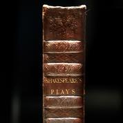 Un recueil de pièces de William Shakespeare vendu 10 millions de dollars aux enchères