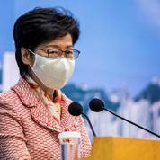 Hongkong: Washington met de nouveau à l'index la dirigeante Carrie Lam