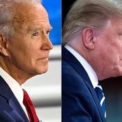 À distance, Trump et Biden poursuivent leur affrontement et exacerbent leurs différences