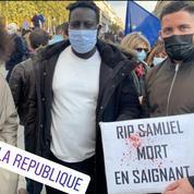 «RIP Samuel, mort en saignant»: la photo d'Assa Traoré indigne sur les réseaux sociaux