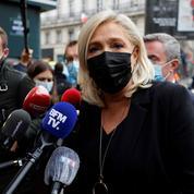 Marine Le Pen a rendu hommage à Samuel Paty, «assassiné dans des circonstances épouvantables»