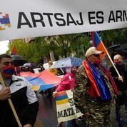 Madrid : manifestation arménienne pour la paix au Nagorny Karabakh