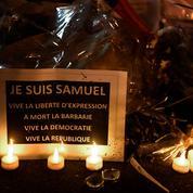 Assassinat de Samuel Paty : «une quinzaine d'enquêtes» à Paris pour apologie du terrorisme