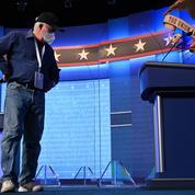 À la veille du dernier débat, Joe Biden toujours invisible