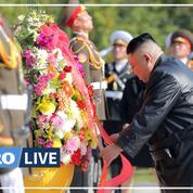 Kim Jong-Un rend hommage aux soldats chinois décédés lors de la guerre de Corée