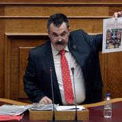 Grèce : le numéro deux d'Aube dorée a pris la fuite pour éviter la prison