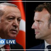 Le président turc Erdogan appelle de nouveau Macron à faire examiner sa «santé mentale»