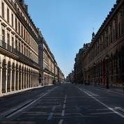 La fréquentation de nombreux quartiers parisiens s'est effondrée avec la crise