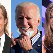 Première victoire pour Joe Biden : avoir réuni Brad Pitt et Jennifer Aniston