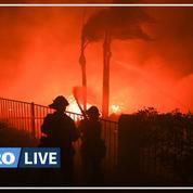 Des incendies provoquent l'évacuation de 90.000 personnes dans la région de Los Angeles