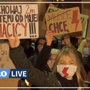 Les femmes polonaises investissent massivement les rues contre l'interdiction d'IVG