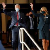 Présidentielle américaine: Biden vote dans son fief de Wilmington, Trump sillonne l'Amérique