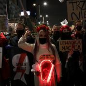 Rassemblement à Varsovie pour le droit à l'avortement