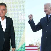 Bruce Springsteen affirme une nouvelle fois son soutien à Joe Biden