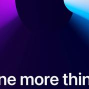 Après deux keynotes cet automne, Apple annoncera «une dernière chose» le 10 novembre