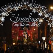Strasbourg a reçu son sapin de Noël