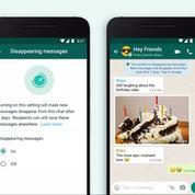 Sur WhatsApp, vous pouvez envoyer des messages éphémères