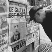 «De Gaulle est mort» : il y a 50 ans, l'information à la une des journaux