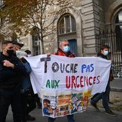 Covid-19 : rassemblement contre la fermeture des urgences de l'Hôtel-Dieu