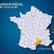 Pluies et inondations : le Gard et l'Hérault en alerte orange