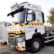 Covid: un hôpital mobile déployé lundi à Bayonne en... une demi-heure
