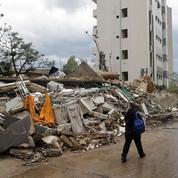 Liban : à Beyrouth, les pluies portent le coup de grâce aux maisons ravagées par l'explosion